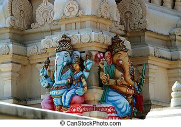 Temple Goa India - a Hindu Temple in Goa, India