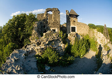 ruins of an ancient castle