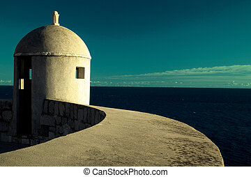 Lookout Point, Dubrovnik - Lookout Point on Dubrovnik walls,...