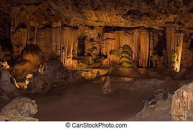 cango caves,South Africa - Great hall in the Cango...