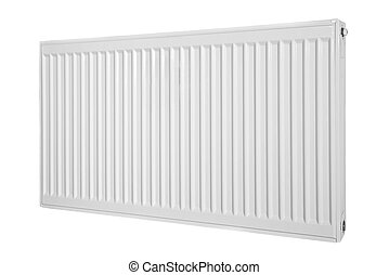 Radiator - Modern radiator on an isolated background.