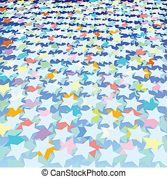 abstract stars background - abstract background with color...