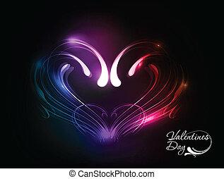 valentines day heart design