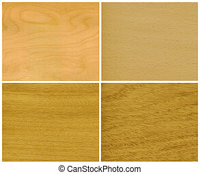 Wood, veneer: ice birch, beech, elm, oak - Wood, veneer of...