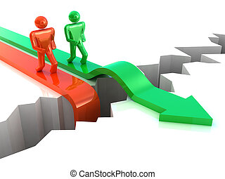negócio, sucesso, competição, conceito
