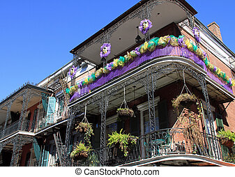 French Quarter in New Orleans - The French Quarter in New...