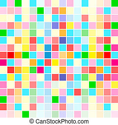 rainbow colors are random scattered