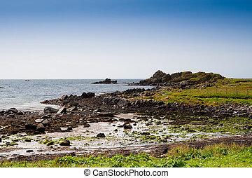 Islay coastline - Coast on Islay, Scotland