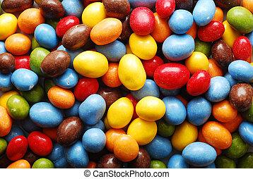 candies background