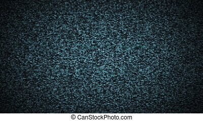 Tv static noise with lines.