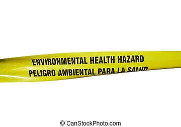 Environmental Health Hazard Tape - Environmental Health...