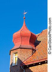 Roof detail of typical Black Forest house