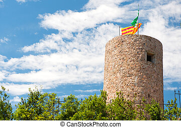 Catalan tower