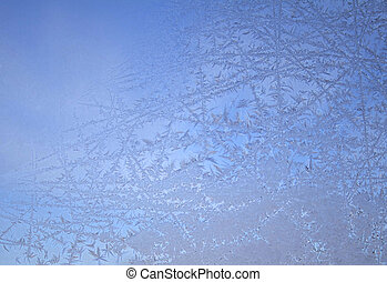 Ice Crystal Backgroud - A beautiful ice crystal background...
