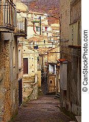 san donato di ninea streetview - san donato old village in...