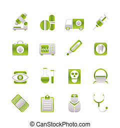 medical, hospital and health care