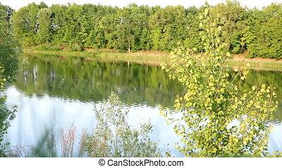 spring lake landscape