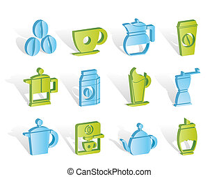 coffee industry signs and icons
