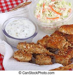 Chicken Strip Meal