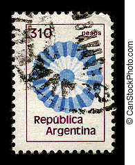 Postage stamp. - ARGENTINA-CIRCA 1980:A stamp printed in...