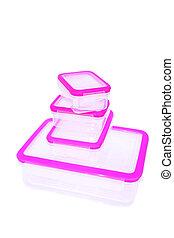 Plastic food container - Plastic food storage container...