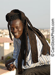 rasta - Senegal boy with dreadlocks