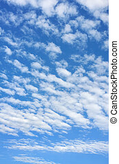 Cloudscape - only sky and clouds