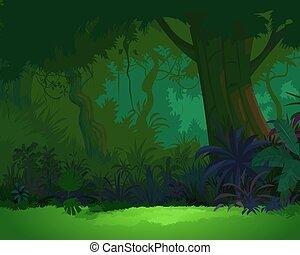 artystyczny, Prospekt, dżungla, 3