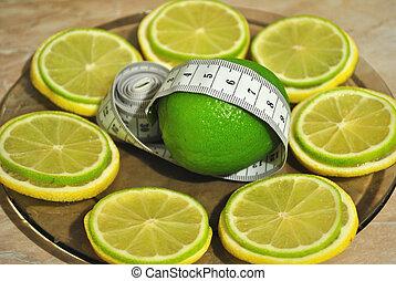 limão, Ajuda, entulho, excesso