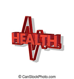 health - 3d health letter