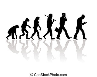 Evolition - Abstract illustration of evolution