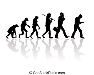 Evolution - Abstract illustration of evolution