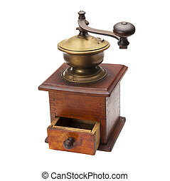 Pepper or salt mill - A beautiful wooden pepper or salt...