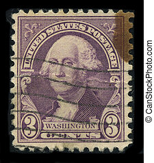 Postage stamp. - USA - CIRCA 1930: A stamp printed in USA...