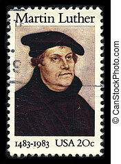 Postage stamp. - USA - CIRCA 1983: A stamp printed in USA...