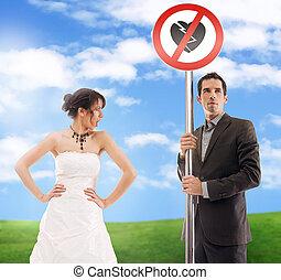 圖片, 象征, 婚禮