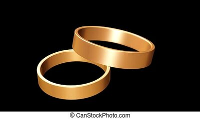 Two Gold Bands