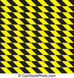 seamless yellow and black rhombus