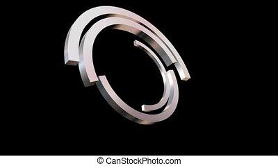 Silver Half Circles