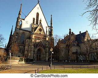 Church Nikolaikirche in Leipzig (Germany)