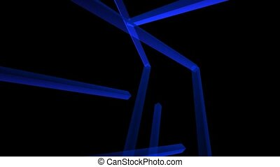 Blue Tube Art