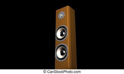 Pounding Stereo Speaker