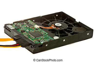 hdd computer to record and store information