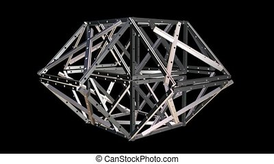 Metal Geometric Structure