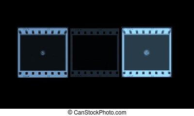 Three Flashing Screens