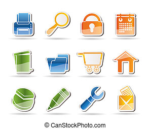 website, internet and computer icon