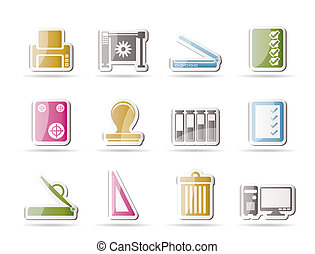 Print industry Icons