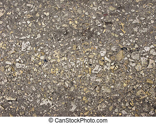 Macadam road surface background - Country macadam road...