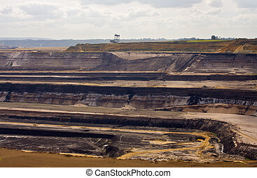 Open-pit lignite mining in Germany - Open-pit mining for...
