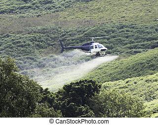 Crop Sprayer Helicopter
